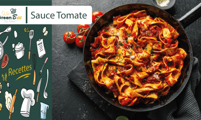 Recette Sauce Tomate